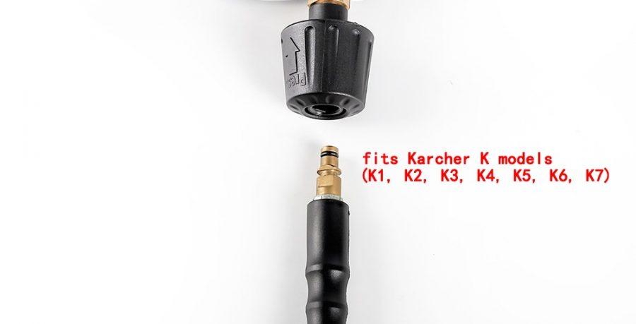 Best Trigger Spray Gun for Karcher K sereis Pressure Washers